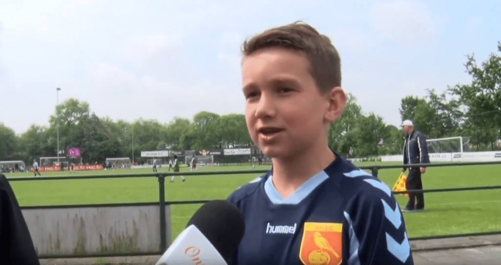 Eerste Wesley Sneijder jeugdtournooi
