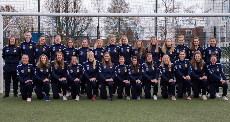 Trainingspakken DHSC Dames 1 en 2